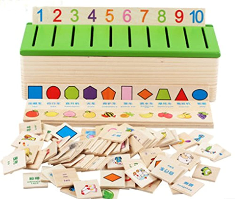 組み合わせMatching分類トイボックス、子供の教育玩具
