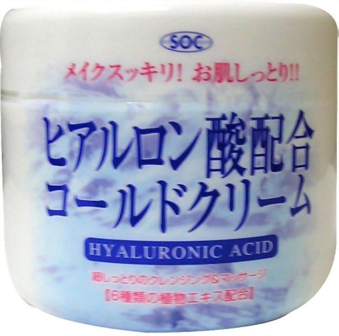 ぶどうアダルト合図澁谷油脂 ヒアルロン酸コールドクリーム 270g