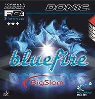 DONIC(ドニック) 卓球 ラバー ブルーファイア ビッグスラム ブラック AL084 AB(ブラック) 1.8