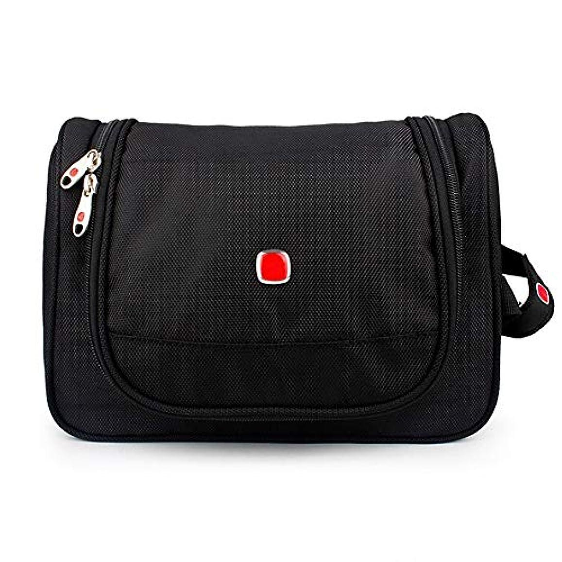 小川無線グリットHFGZ-Huan メンズ旅行トイレタリーバッグ、男性と女性のためのトイレタリー旅行バッグDoppキット (Color : Black)