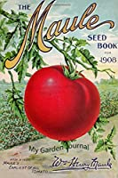 My Garden Journal: Garden Journal with Vintage American Seed Catalog Cover, 6x9 100 lined pages, great for garden notes.
