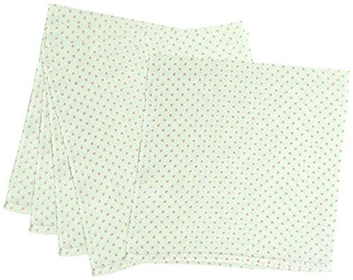5枚組 ハーフサイズ ドビー織 水玉柄 仕立て布おむつ ピンク TK713 日本製