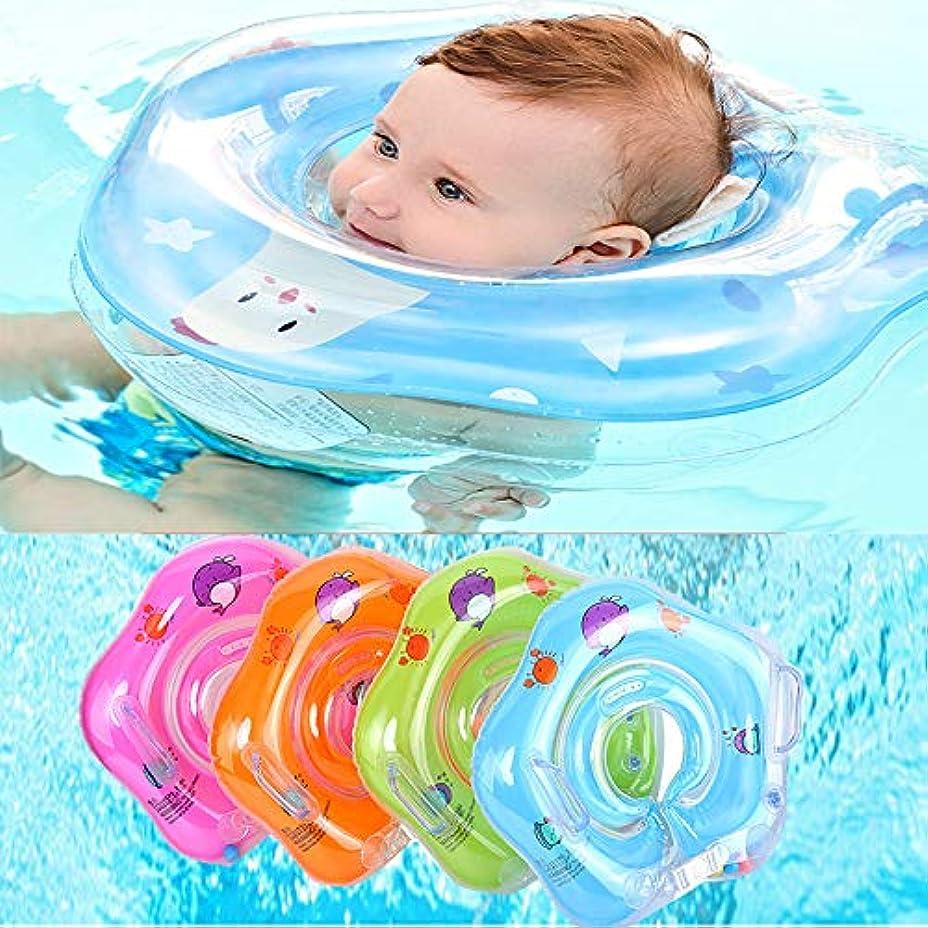 分散ノート愛xiaoxiaoguo 幼児のネックリング水泳アクセサリー赤ちゃんインフレータブル水フローティングリングベビーバスインフレータブルリング