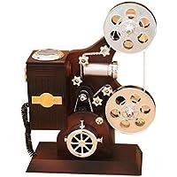 SONONIA 2台 オルゴール レトロ 映写機のデザイン 機械 贈り物 家の装飾