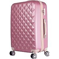 012 キルト可愛いスーツケース キャリーケース キャリーバッグ【 軽量 TSA搭載Sサイズ 1~3日