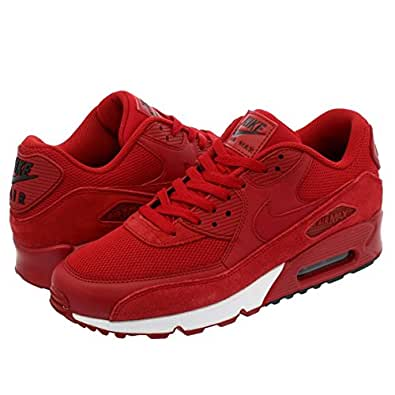 [ナイキ] AIR MAX 90 ESSENTIAL GYM RED/GYM RED/BLACK/WHITE [並行輸入品]