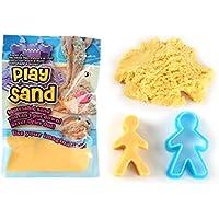 inverlee子DIY子供マジックカラフルPlay Sandハンドメイド粘Non Toxic Toys with金型