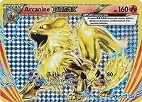 Pokemon Arcanine Break XY180 Arcanine Break Box Promo Holo Rare