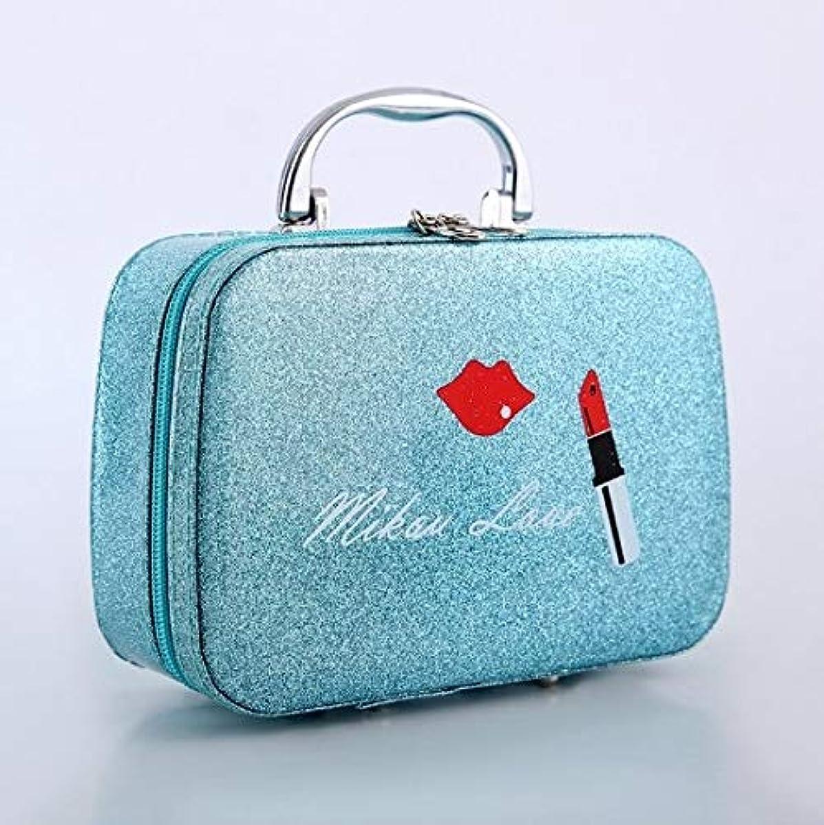資金ポーチ確かに化粧箱、口紅の唇、スクラブ、携帯用化粧品ケース、携帯用旅行化粧品ケース、美容ネイルジュエリー収納ボックス