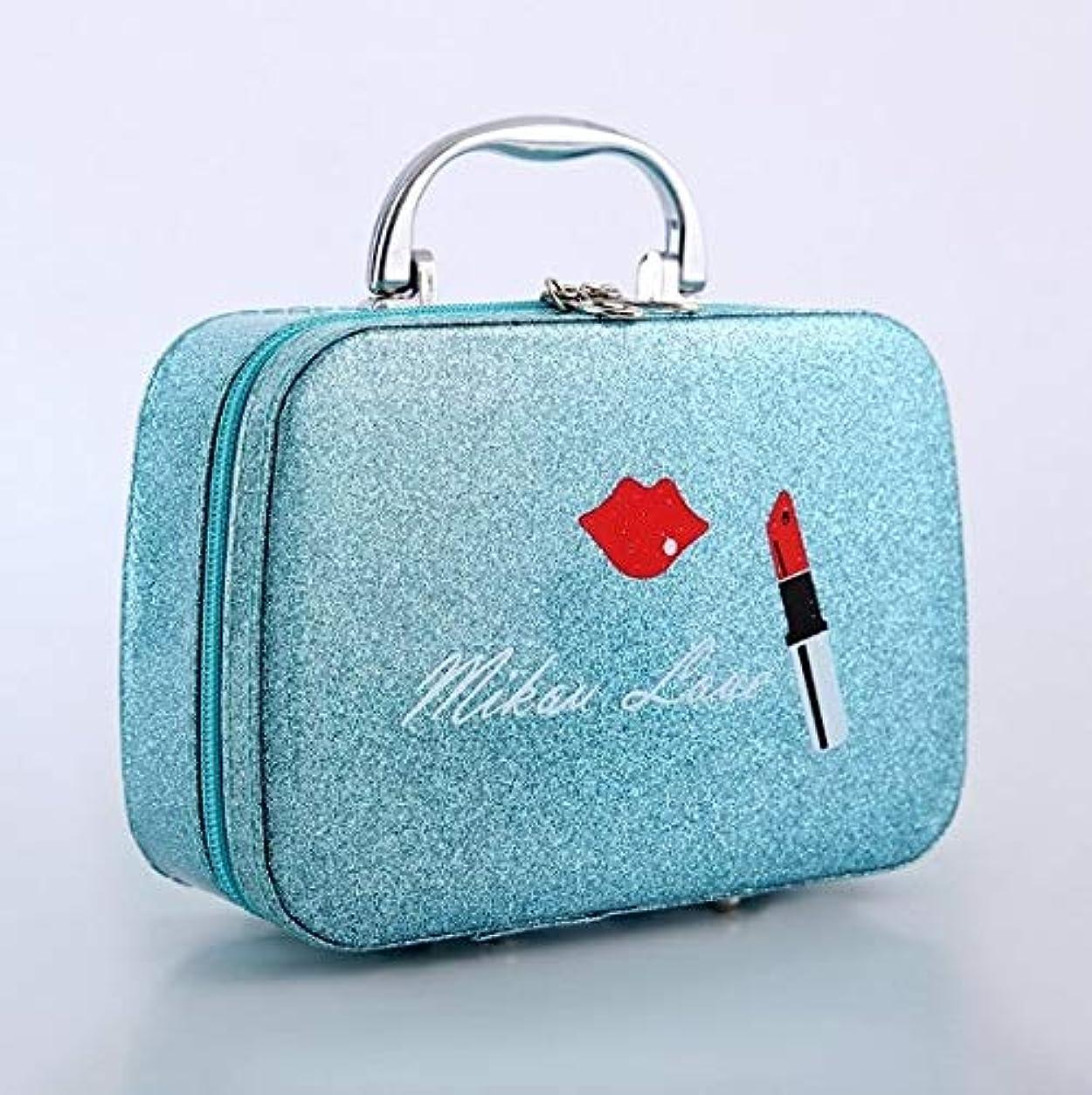 ぺディカブ割り当て花弁化粧箱、口紅の唇、スクラブ、携帯用化粧品ケース、携帯用旅行化粧品ケース、美容ネイルジュエリー収納ボックス