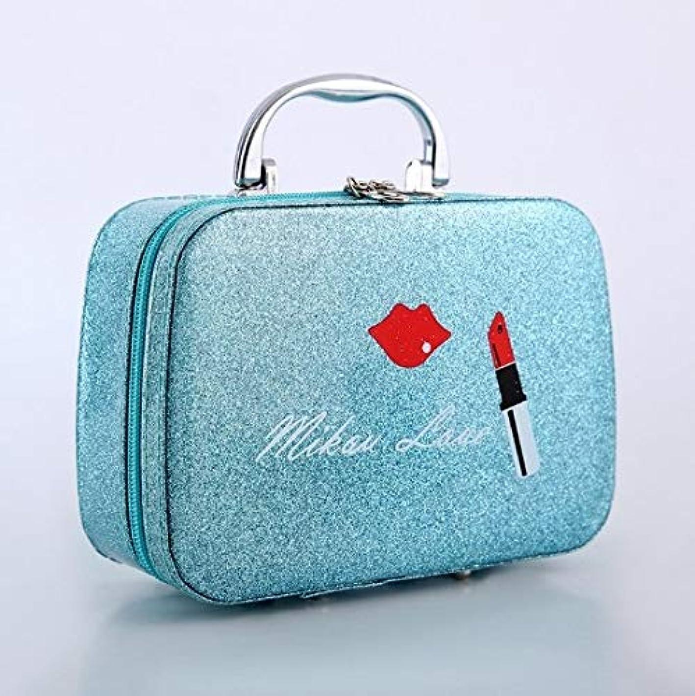 広範囲レバー調子化粧箱、口紅の唇、スクラブ、携帯用化粧品ケース、携帯用旅行化粧品ケース、美容ネイルジュエリー収納ボックス