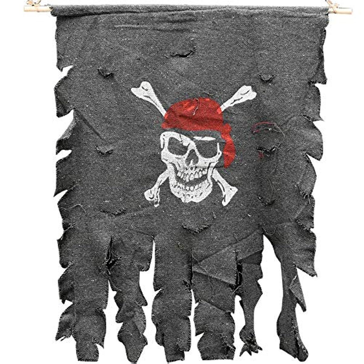 デマンド精査する湾ETRRUU HOME ハロウィンジョリーロジャー大パーティーデコレーションKTV旗バナーぶら下げ旗アレンジメントの小道具