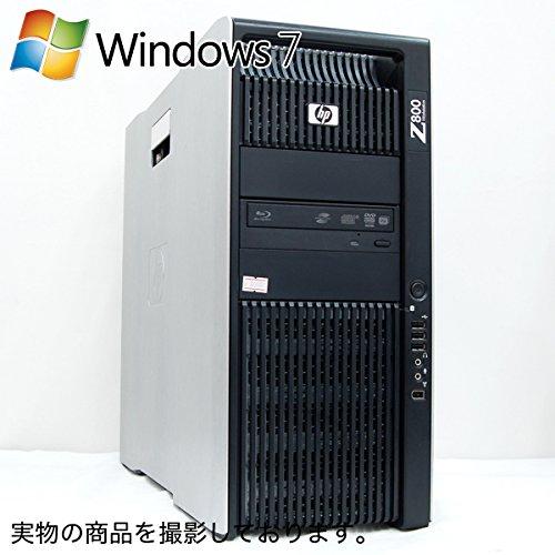『中古ワークステーション HP Z800 WorkStation [NVIDIA Quadro 4000] (Windows 7 Professional 64ビット/ Xeon X5687 / 8GB / 450GB / Blu-Ray)』のトップ画像