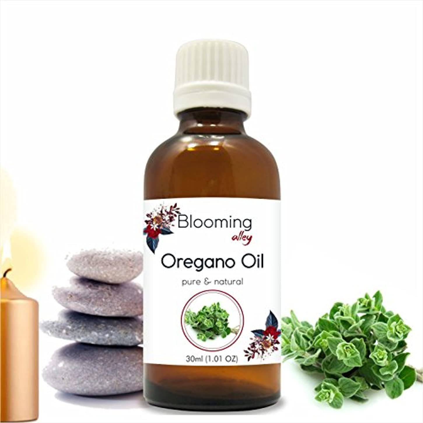 集中マニフェスト文句を言うOregano Oil (Origanum Vulgare) Essential Oil 30 ml or 1.0 Fl Oz by Blooming Alley