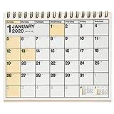 能率 NOLTY 2020年 カレンダー 卓上 25 B6変型 C215 ([カレンダー])