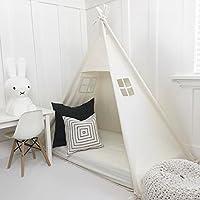 国内のオブジェクト手作りのすべて天然コットンキャノピープレイテント幼児用ベッド。ベビーベッドサイズ。