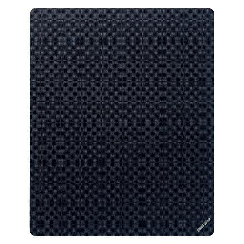 サンワサプライ マウスパッド Mサイズブラック MPD-EC25M-BK 1個