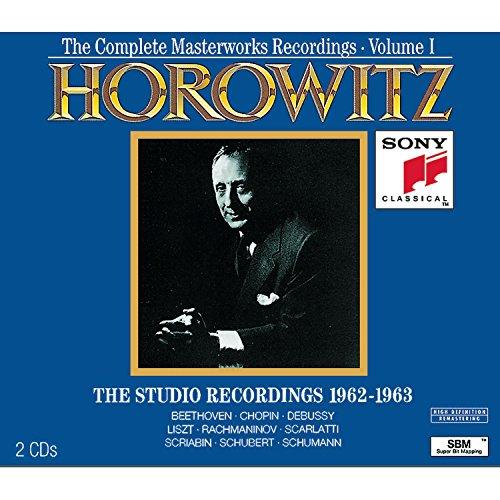 Vladimir Horowitz, Complete Masterworks Recordings 1962-1973, Vol. I: The Studio Recordings 1962-63の詳細を見る