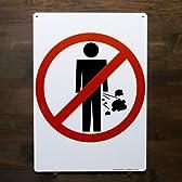 ファンサイン / ココではオナラ禁止です!のメタルサイン