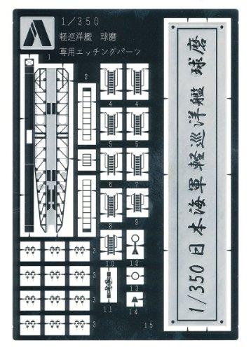 1/350 アイアンクラッド ディテールアップパーツ 軽巡洋艦 球磨 専用エッチングパーツ