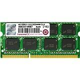 Transcend ノートPC用メモリ PC3-10600 DDR3 1333 4GB 1.5V 204pin SO-DIMM (無期限保証) JM1333KSN-4G