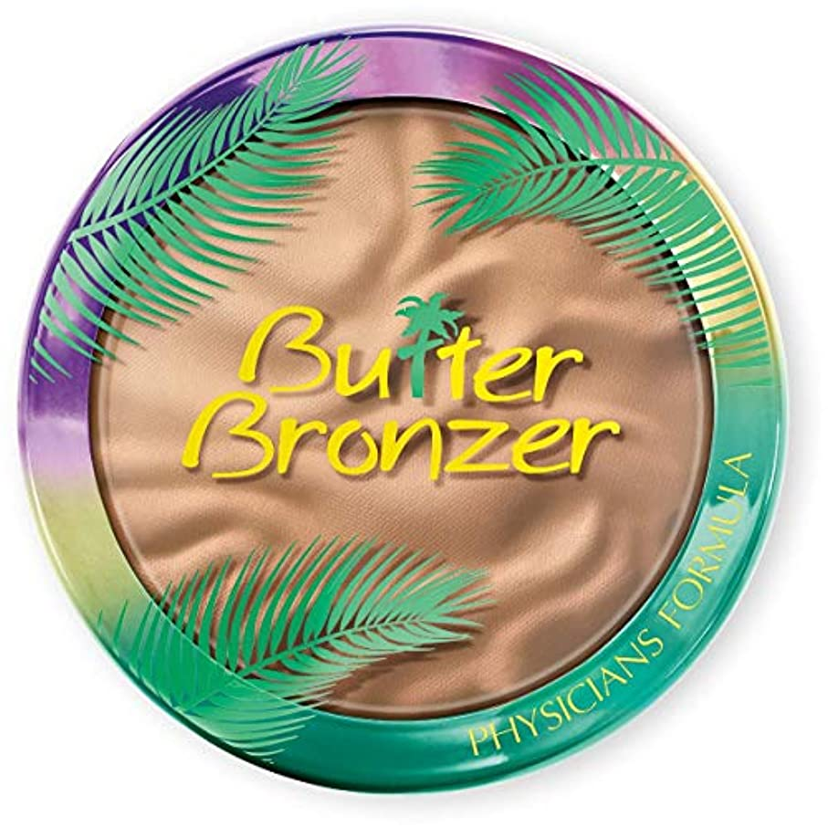 粘り強い写真を撮るロケットPhysicians Formula Bronze Murumuru Butter Bronzer Light