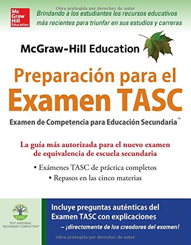 Download McGraw-Hill Education Preparación para el Examen TASC 007184760X