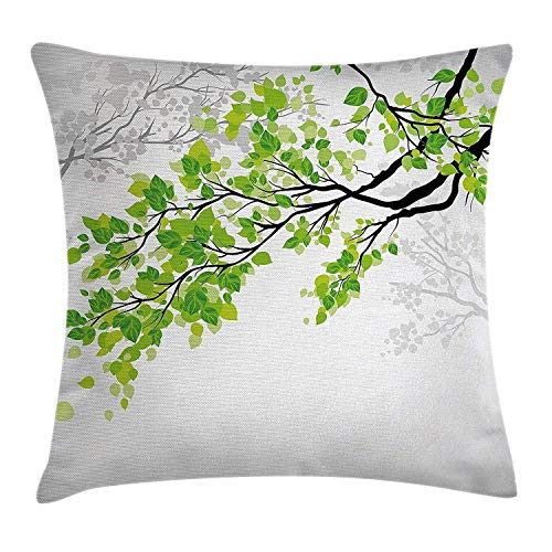 Nature Decor Throw Pillow Cush...