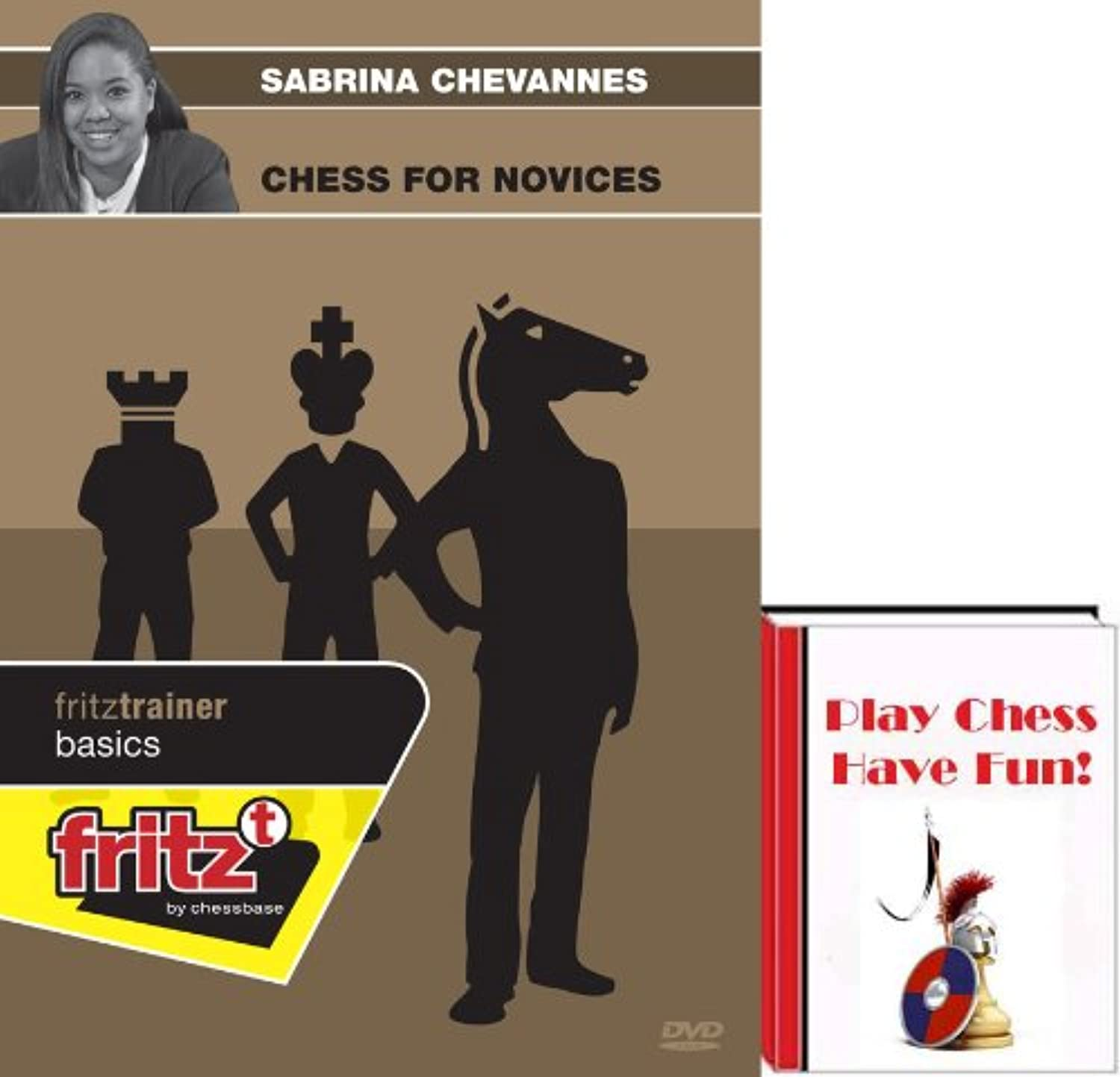 Sabrina Chevannes: Chess for Novices plus Play Chess-Have Fun E-Book (2 item Bundle)