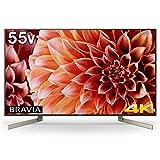 ソニー SONY 55V型 液晶 テレビ ブラビア 4K Android TV機能搭載 Works with Alexa対応 2018年モデル KJ-55X9000F