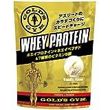 GOLD'S GYMその他 ゴールドジム ホエイプロテイン バニラ風味 1500gの画像