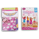 Minnie Mouse Party Decor Supply Set - Balloon Drop and Birthday Banner