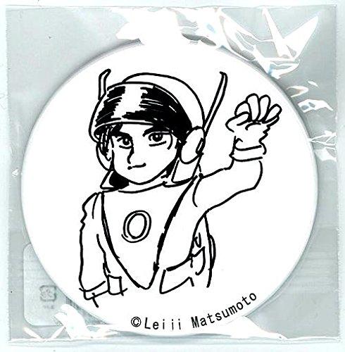 松本零士 缶バッジコレクション No.44 光速エスパー 白