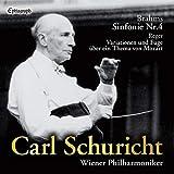 カール・シューリヒト | ウィーン・フィルハーモニー管弦楽団 / ブラームス : 交響曲第4番 | レーガー : モーツァルトの主題による変奏曲とフーガ (Brahms: Sinfonie Nr.4, Reger: Variationen und Fuge uber ein Thema von Mozart / Carl Schuricht, Wiener Philharmoniker) [UHQCD] [国内プレス] [日本語帯解説付]