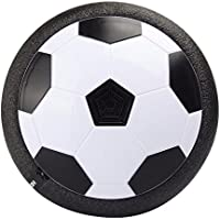 teepao電子エアパワーサッカーディスクカラフルなLEDライト、、Multi - Surface Hovering and GlidingトイインドアアウトドアSoft Football Game Toys Large