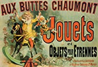 "Jouets Toys Girl Child Play French Friends TV Show 20 "" x 30 ""ヴィンテージポスターキャンバスREPRO"
