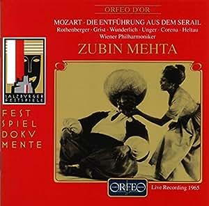 モーツァルト:歌劇「後宮よりの誘拐」 (MORZART DIE ENTFUHRUNG AUS DEM SERAIL) (2CD) [Import CD]