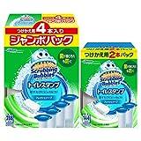 【Amazon.co.jp 限定】【まとめ買い】 スクラビングバブル トイレ洗剤 トイレスタンプクリーナー フレッシュソープの香り 付替用6本セット (4本パック+2本パック) 38g×6本