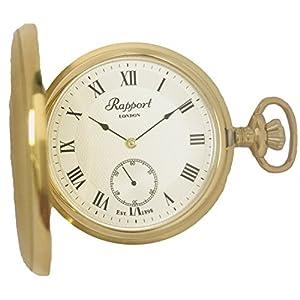 [ラポート]RAPPORT 懐中時計 手巻き スモールセコンド ハンターケース PW20 【正規輸入品】