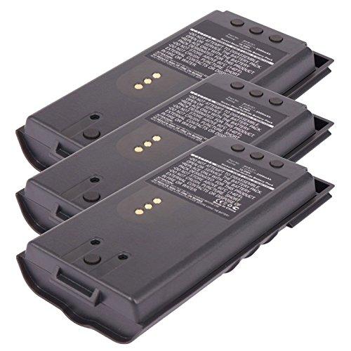 3x Exell 7.2V 2500mAh Ni - MH FRS 2wayラジオバッテリEricsson bkb191210、bkb191210/ 3、bkb191210/ 4、bkb191210/ 43、ジャガー、p5100、p700p、p700pi、p7100、p710p、p7130、p7150、p7170、p7230、p7250