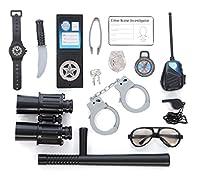 Police Role Play Kit; (14 Pc Set) [並行輸入品]