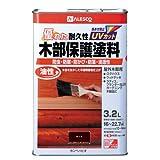 カンペハピオ 油性木部保護塗料 チーク 3.2L