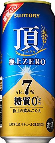 【糖質ゼロ、アルコール7%】サントリー 頂 <いただき></p> 極上ZERO 500ml×24本
