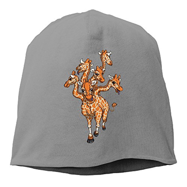 【Dera Princess】ユニセックス ニット帽 The Hydraraffeロゴ コットン ニットキャップ 帽子 オールシーズン 被れる