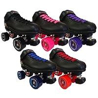 Riedell r3ZenアウトドアスピードSkates–r3Zen Wheels Roller Derbyスケート