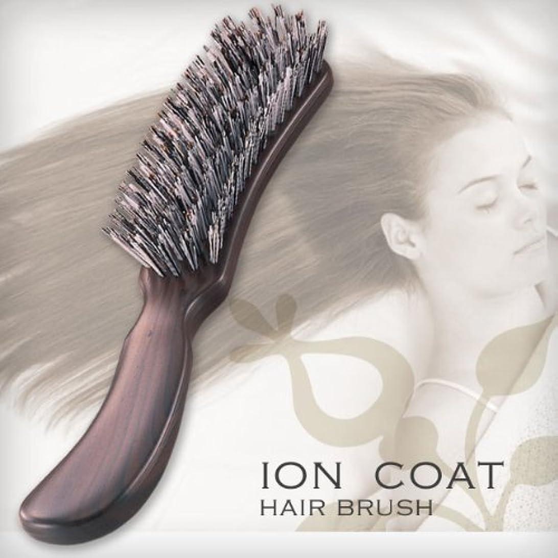 バルセロナ選択削除するイオンコートヘアーブラシ(松鉱石配合)  プロのヘアーメイクさんも推薦!