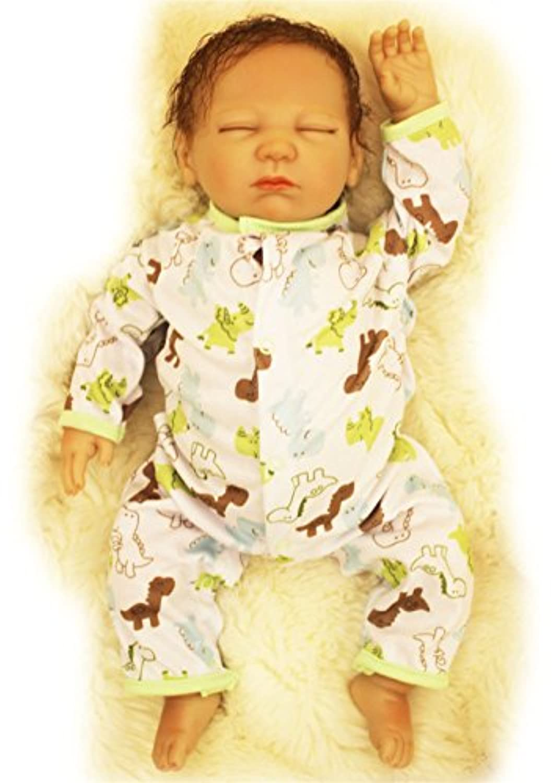 SanyDoll Rebornベビー人形ソフトシリコン20インチ50 cm磁気Lovely Lifelike Lovelyベビーかわいい人形