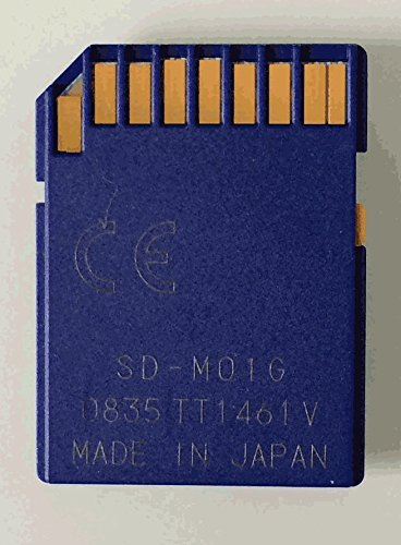 TOSHIBA 1GB SDカード <音源付き 昭和の演芸第一集> SD-MO1GR4W(MADE IN JAPAN)