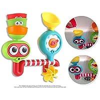 水おもちゃ遊びは風呂において設定した -流れて、噴出口を満たしなさい- 3の積み重ね可能なカップおよび自動化された噴出口 (1つのサイズ)