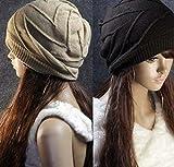 【First Pure】ニット帽 ワッチ ニット 帽子 男女兼用 ニットキャップ 両面用 レディース メンズ 小顔効果 M-xiewen